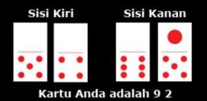 cara main dan menghitung kartu domino qq
